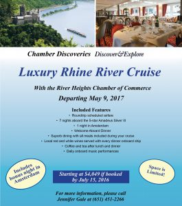CD - Rhine River Cruise - Newsletter Insert - 2017 (River Heights)