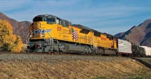 Freight Train - Union Pacific