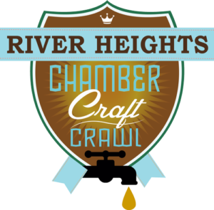 River Heights Chamber Crawl Logo